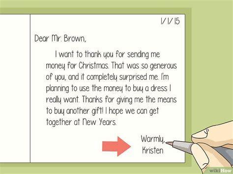 Cara Menuliskan Pesan Terima Kasih atas Hadiah Uang   wikiHow