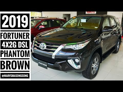 VIDEO: Toyota FORTUNER 4x2 G - Phantom Brown   Full Walk Around w/ Interio...