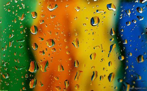 full color drop water wallpaper background wallpaper hd