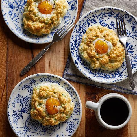 parmesan cloud eggs recipe eatingwell