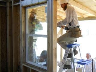 House More Installing Main Floor Windows