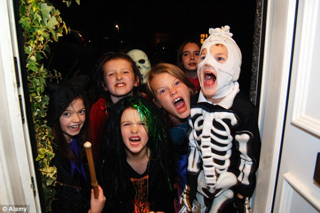 Image result for trick or treat kids