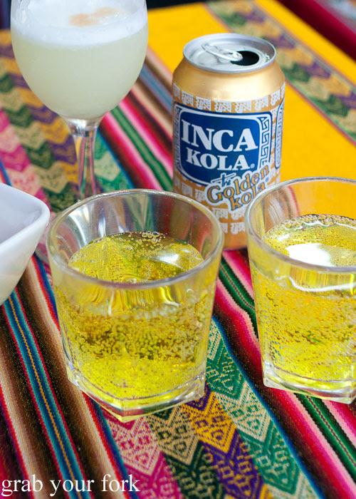 Inca Kola - the golden kola