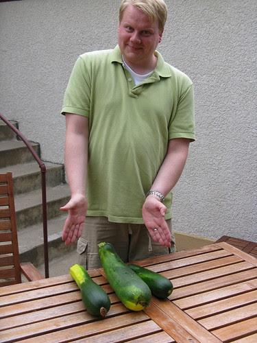 Matt's Giant Zucchini