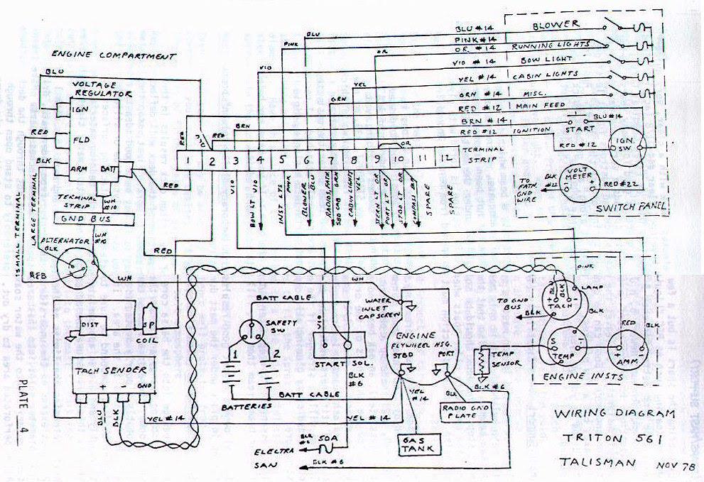 Mercury 110 9 8 Hp Wiring Diagram