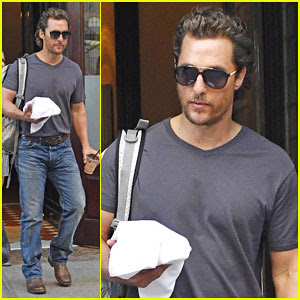 Matthew McConaughey Reveals Biblical Inspiration Behind Son Levi's Name
