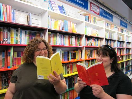 Donna and Alyson Love Sharon Creech's Books