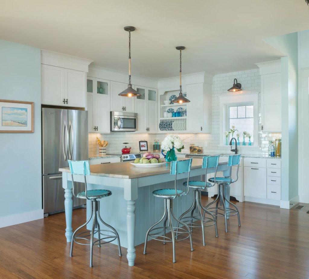 20 Amazing Beach Inspired Kitchen Designs   Interior God