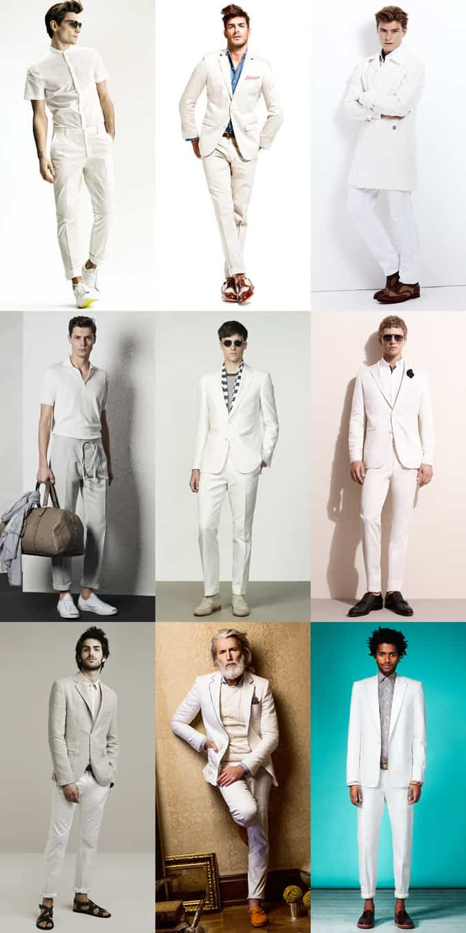 men's whiteonwhite ss14 fashion trend  fashionbeans