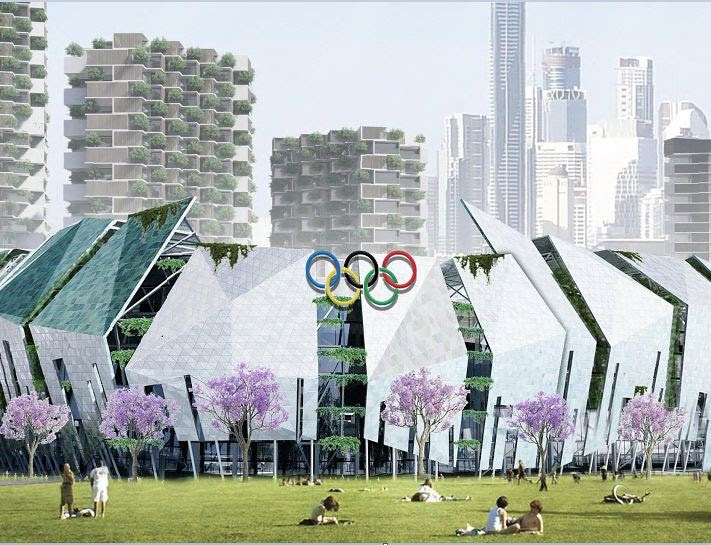 Brisbane 2032 Olympics Logo : Currently, the only ...