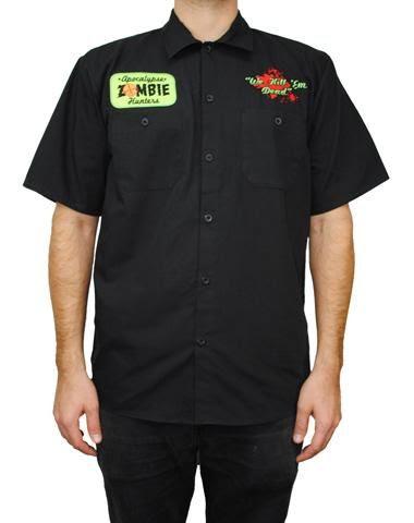 Zombie Hunter Work Shirt