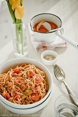 Spaghetti alla Puttanesca by Meeta K. Wolff
