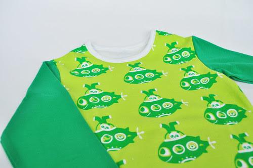 groen + duikboot