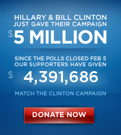 Obama Donations Day After Super Tuesday