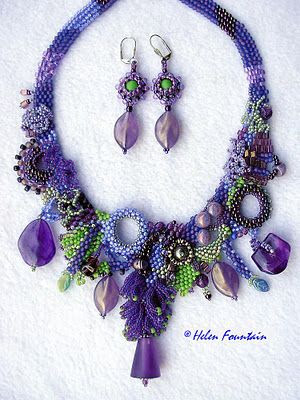 "Helen Fountain Beadweaver: ""ROYAL PURPLE"""