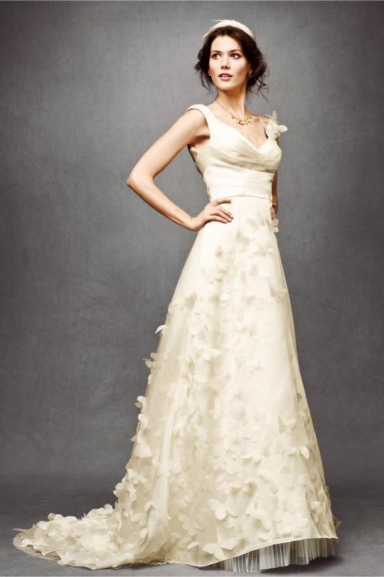 Ethereal Wedding Dress. BHLDN Wedding Dress Style