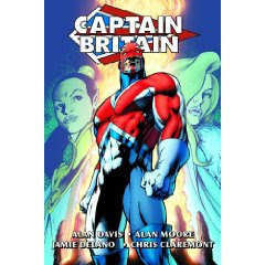 David Thorpe's work is in this Captain Britain omnibus