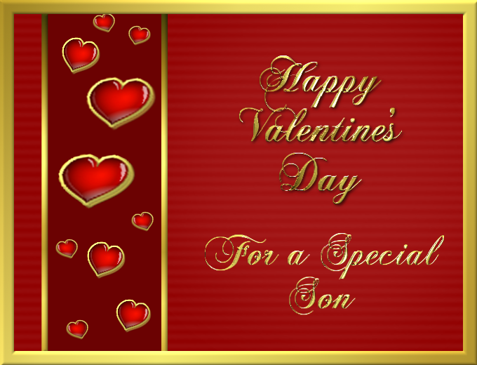 Happy Valentines Day For A Special Son Pictures Photos And Images