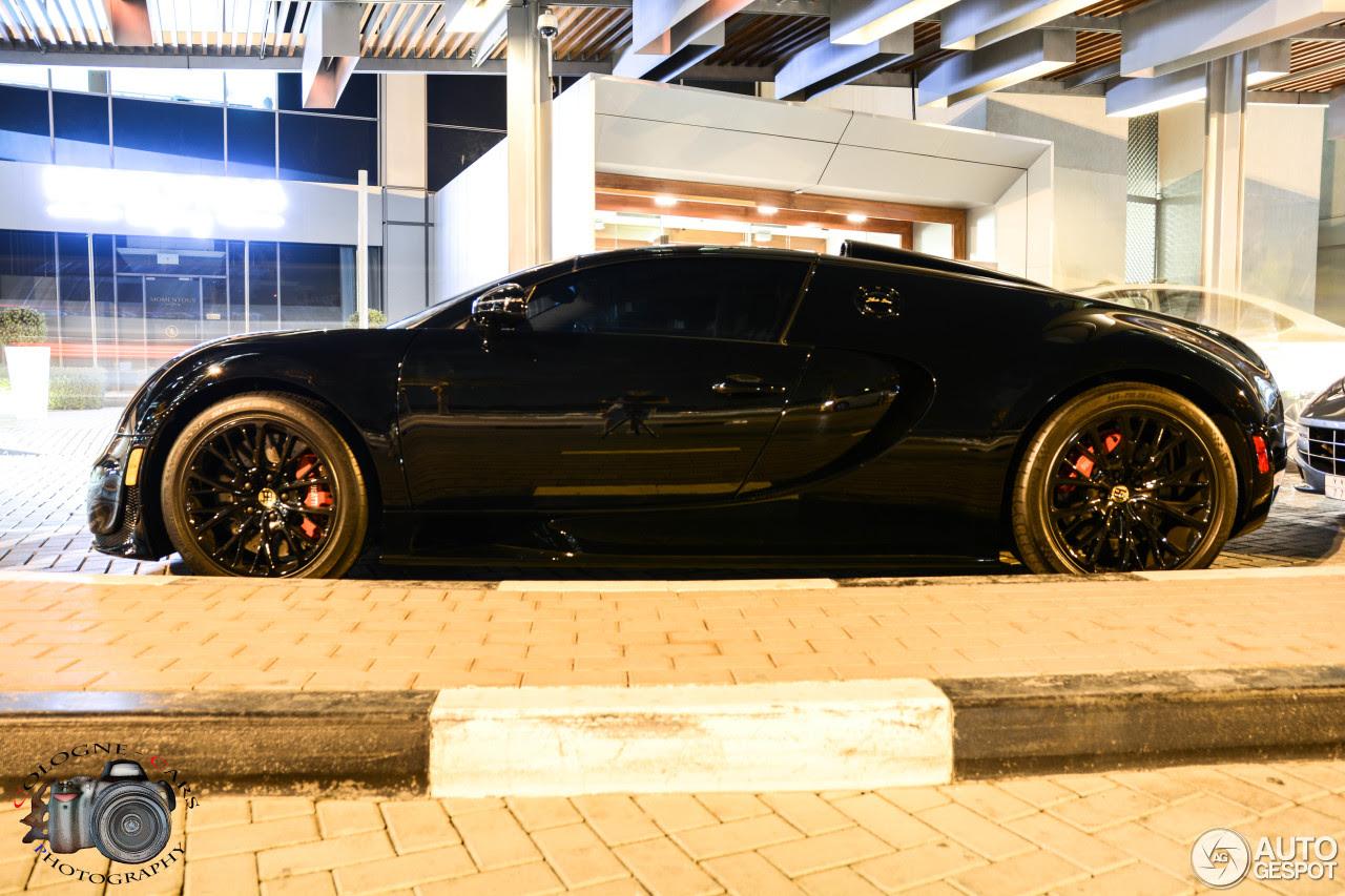 Bugatti Veyron 16.4 Grand Sport Vitesse Black Bess - 2 January 2015 - Autogespot