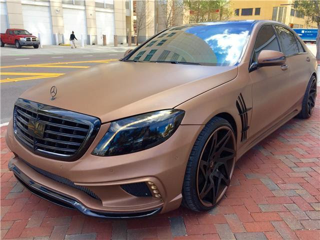 Awesome 2014 Mercedes-Benz S-Class Custom S550 2014 ...