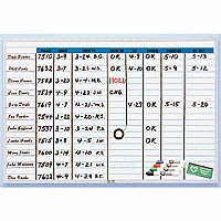 Dry Erase Magnetic Planner Boards, Magnetic Schedule Boards