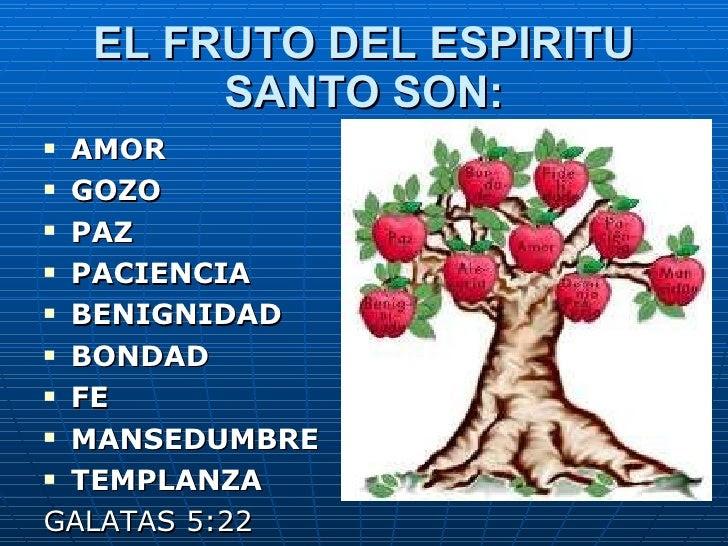 Resultado de imagen de Frutos del Espíritu