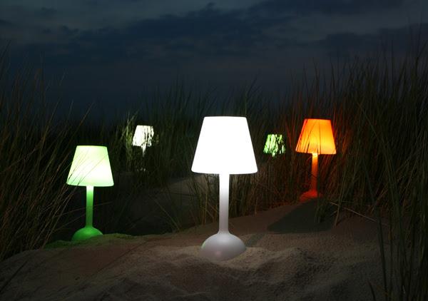 ilminacion, decoracion, diseño, Lámpara solar Daylight - Rebbeca Potger