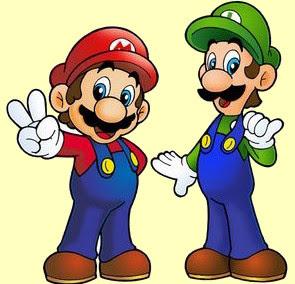 Juego De Pintar A Mario Y Luigi Juegos
