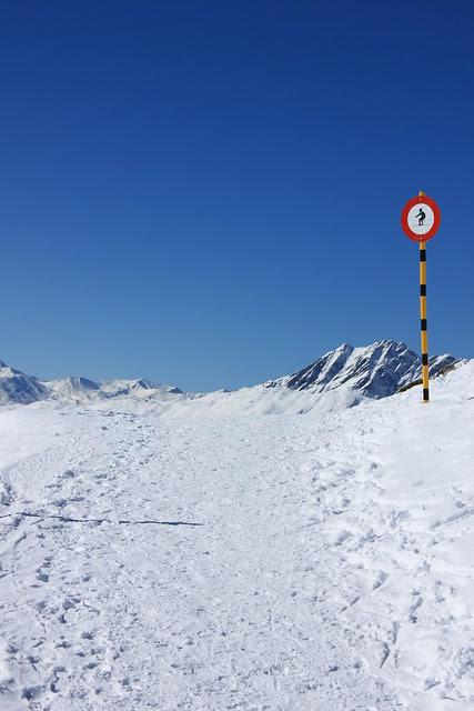 Moosfluh–Hohfluh Winterwanderweg