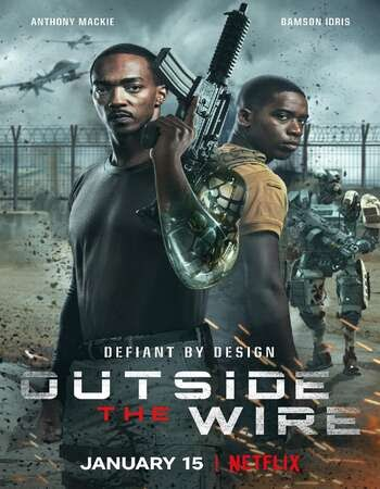 Outside the Wire (2021) Dual Audio Hindi