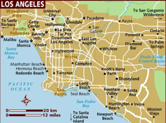 watts map los angeles