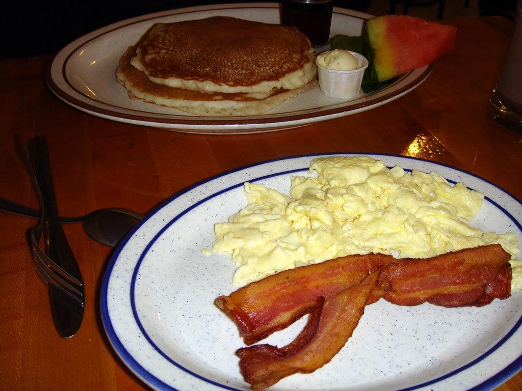 Pancakes, Eggs & Bacon