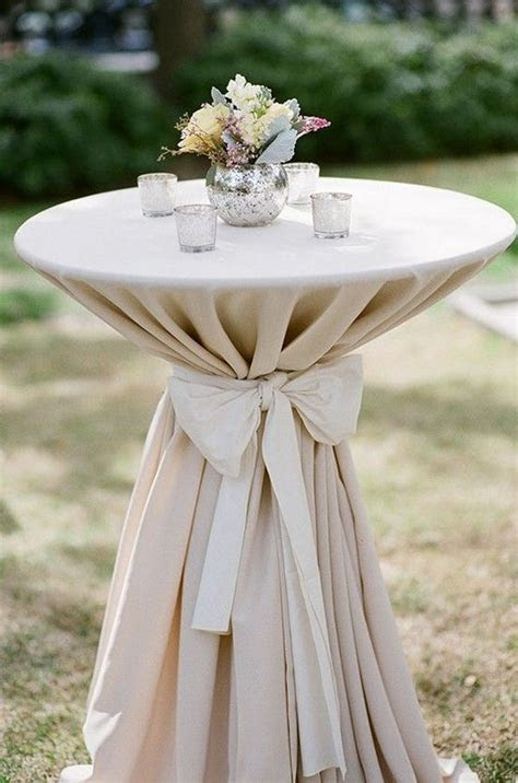 40 Incredible Ideas to Decorate Wedding Cocktail Tables
