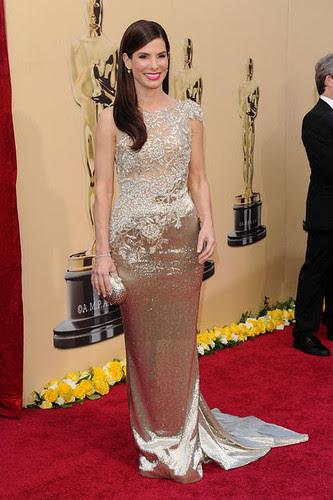 Sandra Bullock at the 82nd Annual Academy Awards