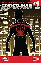 Miles Morales Ultimate Spider-Man 1 cover