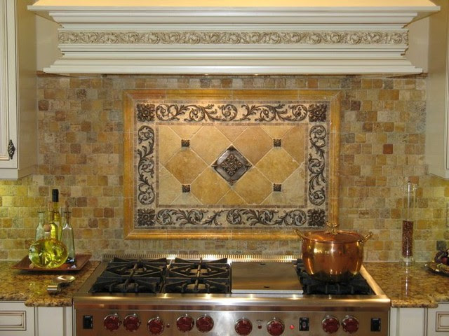 Backsplashes with Metal - Mediterranean - Tile - san diego ...