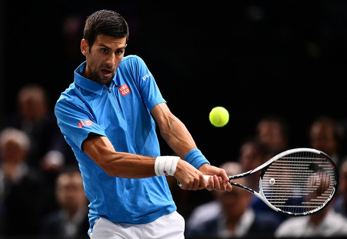 Djokovic x Dimitrov - Masters 1000 de Paris tênis (Foto: Getty Images)
