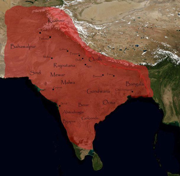 L'empire Moghol