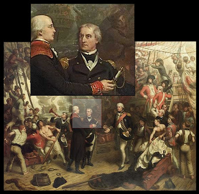 Admiral Duncan at Battle of Camperdown 1797