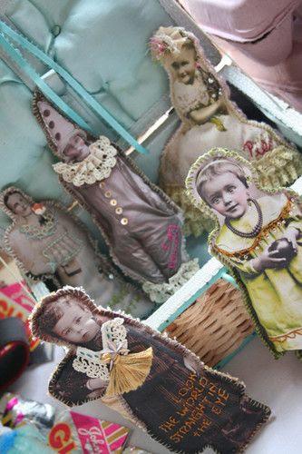 Old photo dolls..love love love!!