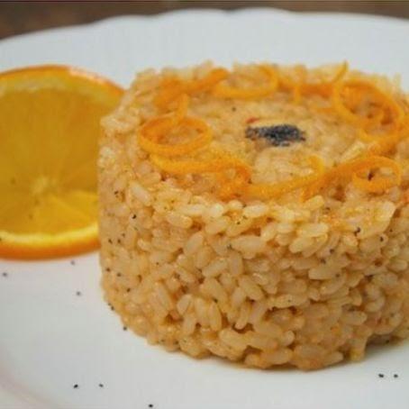 Cucinare sul web risotto all 39 arancia con gamberi for Cucinare risotto