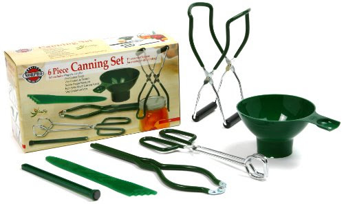 Norpro 5 Piece Canning Preserving Set New Include Jar Lifter Magnetic Lid Lifter
