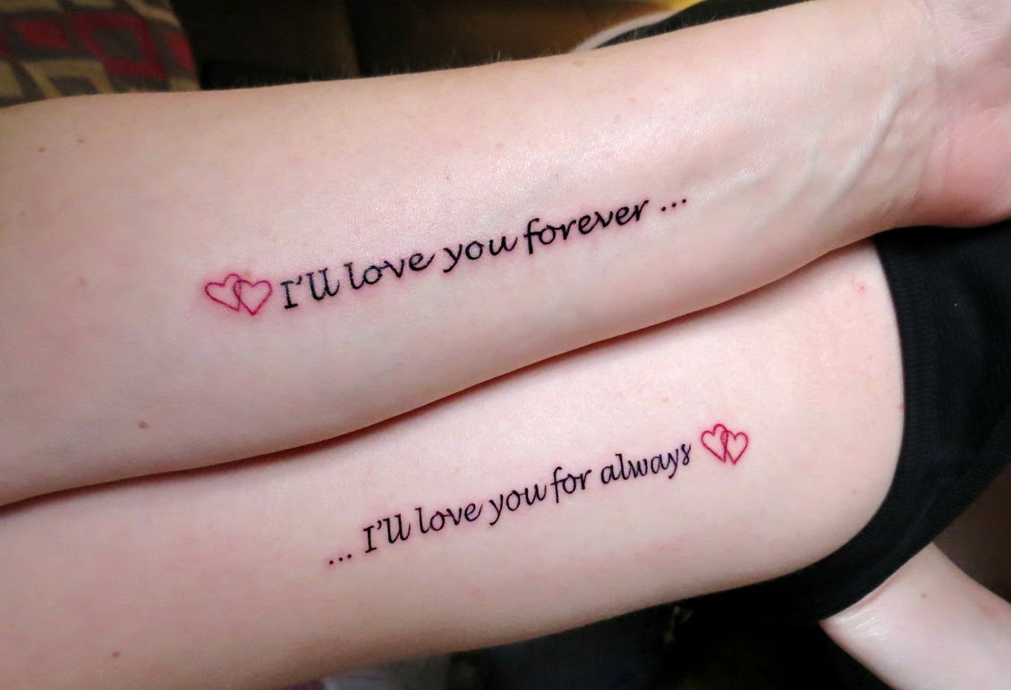 Mother Daughter Tattoo Quotes