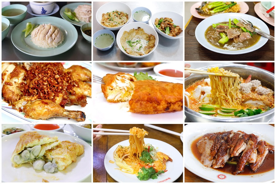10 Michelin Street Food In Bangkok Jay Fais Crab Omelette
