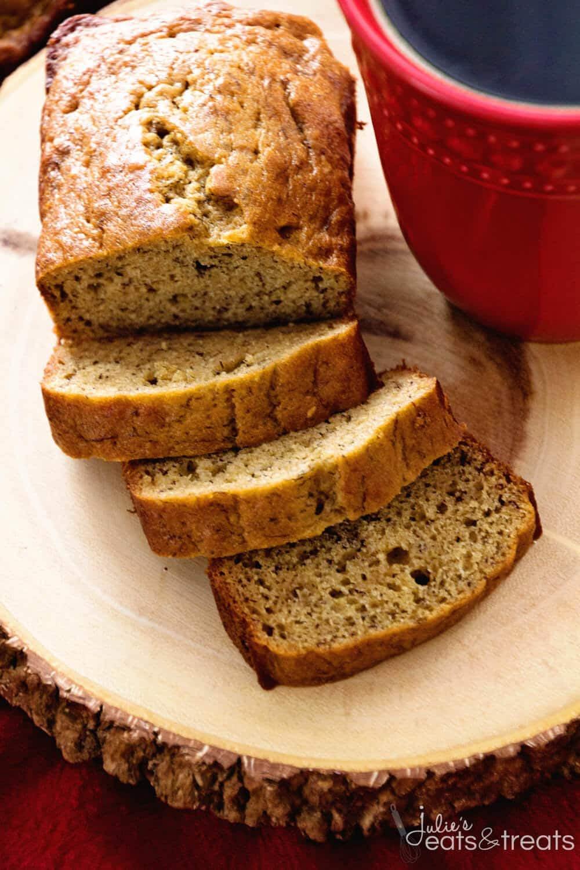 Healthy Banana Bread Recipe - Julie's Eats & Treats