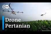 Teknologi Drone Bantu Semprot Lahan Pertanian di Ghana