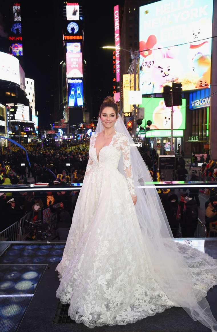 Maria Menounos – Getting married in New York