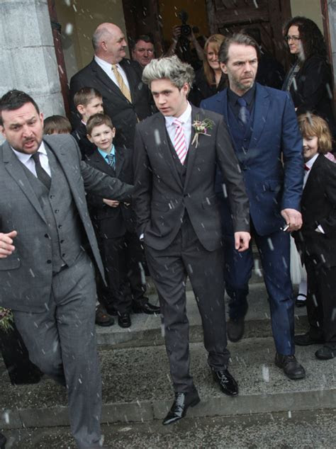 One Direction's Niall Horan acts as best man at brother's