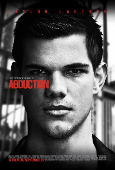 Abduction avec Taylor Lautner : premier poster (en cours)