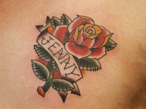 These name tattoos are much more than comparatively simple lettering tattoos